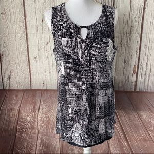 Lysse Lined tank top size large